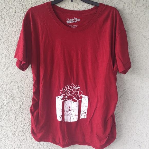maternity christmas tshirt - Maternity Christmas Shirts
